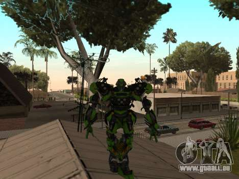 Transformers 3 Dark of the Moon Skin Pack pour GTA San Andreas cinquième écran