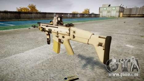 La Machine FN SCAR-L Mc 16 cible icon1 pour GTA 4 secondes d'écran