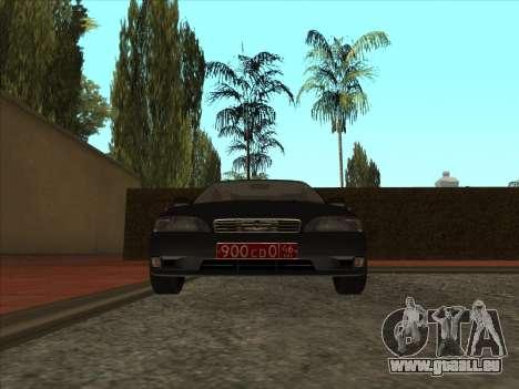 Toyota Mark II Consulaires pour GTA San Andreas laissé vue