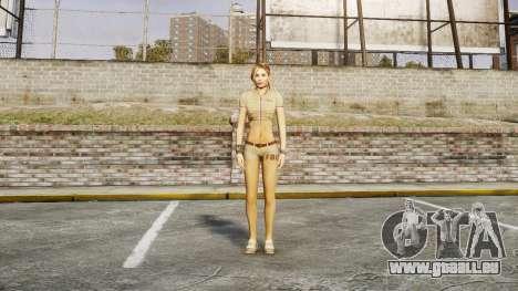 Mädchen FBI für GTA 4 dritte Screenshot