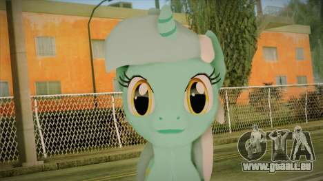 Lyra from My Little Pony für GTA San Andreas dritten Screenshot