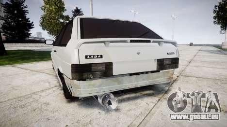 VAZ-2113 Turbo pour GTA 4 Vue arrière de la gauche