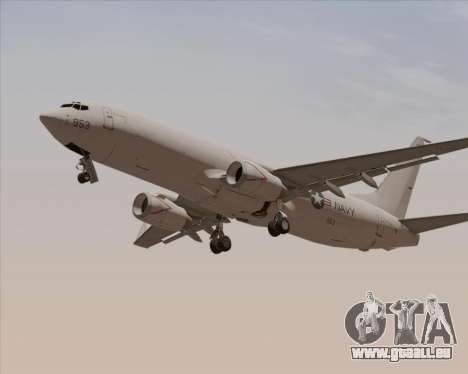 Boeing P-8 Poseidon US Navy pour GTA San Andreas vue de dessus