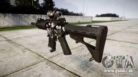 Machine P416 ACOG PJ3 cible pour GTA 4 secondes d'écran