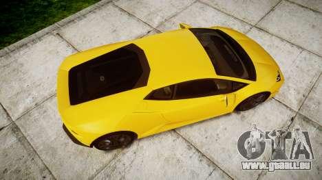 Lamborghini Huracan LP610-4 für GTA 4 rechte Ansicht