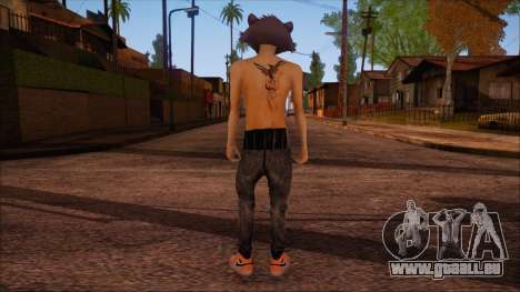 GTA 5 Skin pour GTA San Andreas deuxième écran