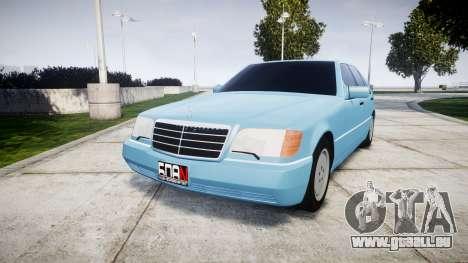 Mercedes-Benz 600SEL W140 pour GTA 4