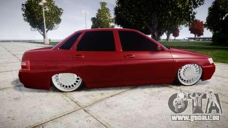 ВАЗ-2110 Bogdan rims2 pour GTA 4 est une gauche