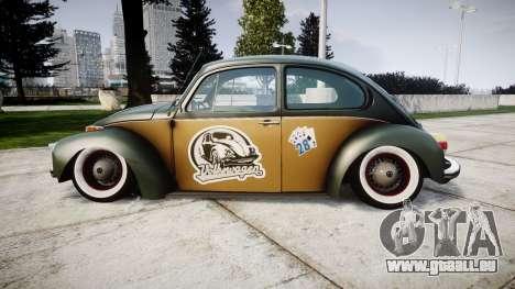 Volkswagen Beetle pour GTA 4 est une gauche