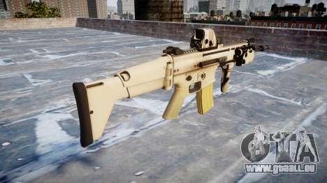 La Machine FN SCAR-L Mc 16 icon1 pour GTA 4 secondes d'écran