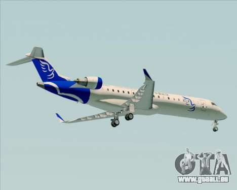 Embraer CRJ-700 China Express Airlines (CEA) für GTA San Andreas Rückansicht