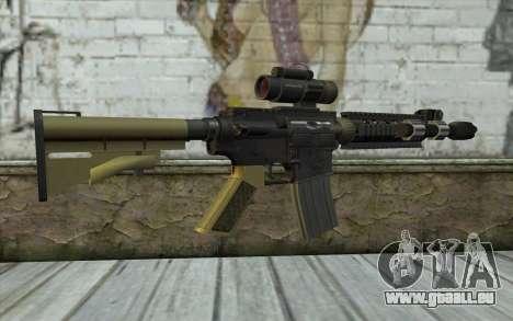 M4 MGS Iron Sight v2 für GTA San Andreas zweiten Screenshot
