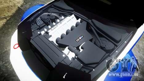 BMW M3 E46 GTR Most Wanted plate NFS MW pour GTA 4 est un côté