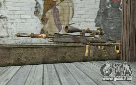 M14 EBR Digidesert pour GTA San Andreas