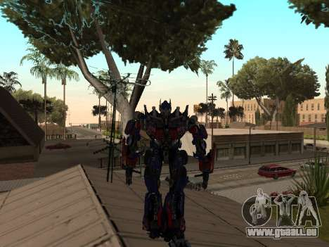 Transformers 3 Dark of the Moon Skin Pack pour GTA San Andreas deuxième écran