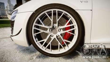 Audi R8 LMX 2015 [EPM] [Update] pour GTA 4 Vue arrière