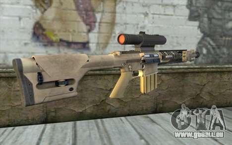 M110 Cuarter Combat Rifle pour GTA San Andreas deuxième écran