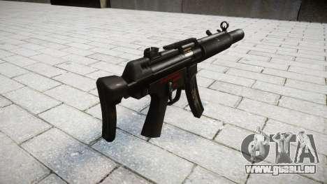 Pistolet MP5SD RO CS pour GTA 4 secondes d'écran