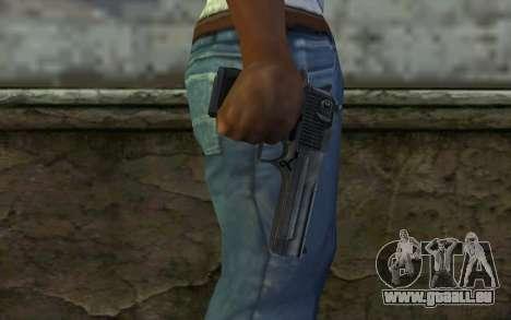 Desert Eagle Standart v2 für GTA San Andreas dritten Screenshot