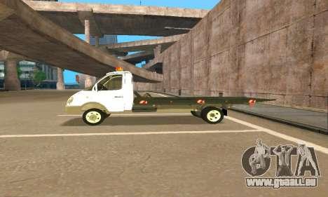 Gazelle Schlepptau 33023 Beta v1.2 für GTA San Andreas obere Ansicht