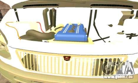 Gazelle Schlepptau 33023 Beta v1.2 für GTA San Andreas Rückansicht
