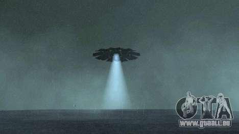 UFO über San Andreas für GTA San Andreas zweiten Screenshot