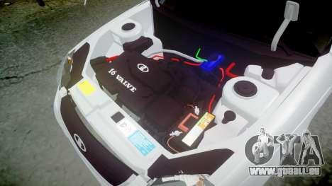 ВАЗ-2170 hohe Qualität für GTA 4 Seitenansicht