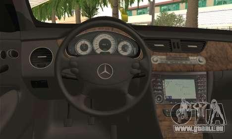 Mercedes-Benz CLS 500 pour GTA San Andreas sur la vue arrière gauche