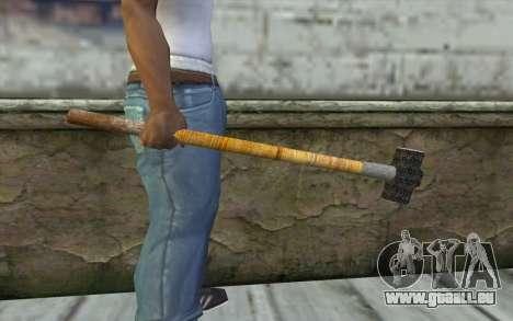 Sledge Hammer pour GTA San Andreas troisième écran