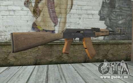 AK-74 Standart für GTA San Andreas zweiten Screenshot