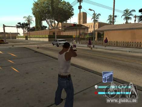 C-HUD OREAN pour GTA San Andreas deuxième écran