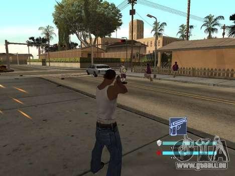 C-HUD OREAN für GTA San Andreas zweiten Screenshot
