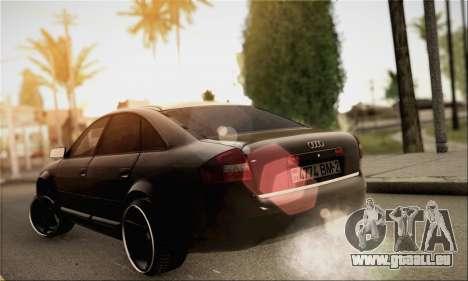 Audi A6 für GTA San Andreas linke Ansicht