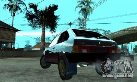 VAZ 2108 für GTA San Andreas linke Ansicht