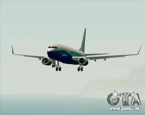 Boeing 737-800 House Colors für GTA San Andreas Unteransicht