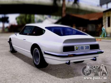 Lampadati Pigalle GTA V pour GTA San Andreas laissé vue
