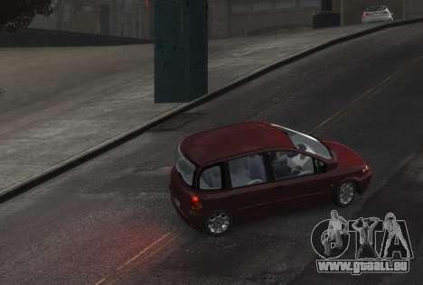 Fiat Multipla für GTA 4 hinten links Ansicht