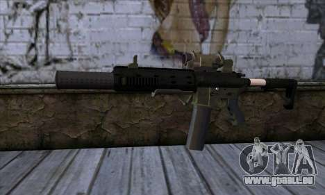 Carbine Rifle from GTA 5 v1 pour GTA San Andreas