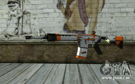 M4A4 from CS:GO pour GTA San Andreas