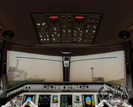 Embraer E-190 Air Canada pour GTA San Andreas moteur