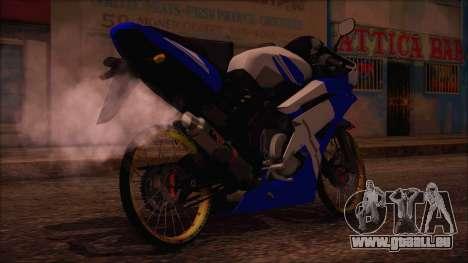 Yamaha R15 Modif pour GTA San Andreas laissé vue