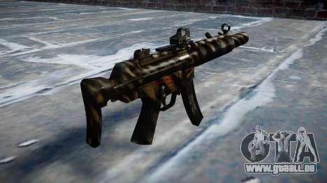 Pistolet MP5SD DRS CS c cible pour GTA 4 secondes d'écran