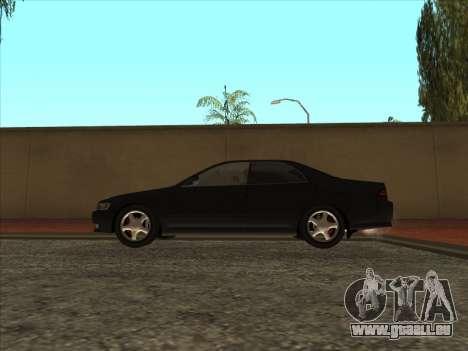 Toyota Mark II Consulaires pour GTA San Andreas vue arrière