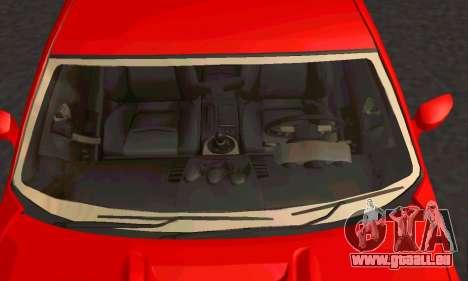 Nissan 350Z Tune für GTA San Andreas Rückansicht
