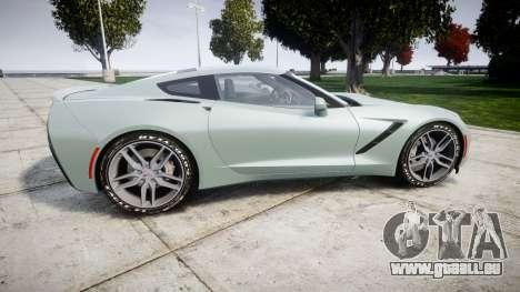 Chevrolet Corvette C7 Stingray 2014 v2.0 TireGY pour GTA 4 est une gauche
