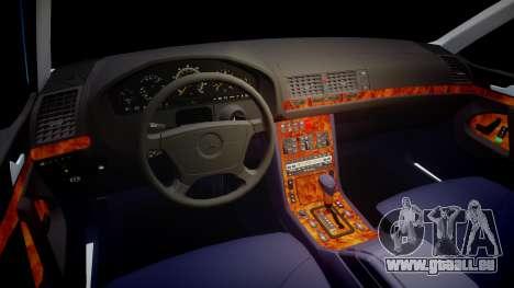 Mercedes-Benz 600SEL W140 pour GTA 4 Vue arrière