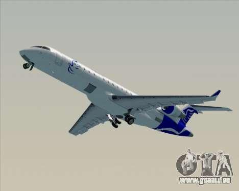 Embraer CRJ-700 China Express Airlines (CEA) pour GTA San Andreas vue de dessus