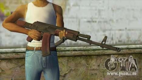 AK47 from Battlefield 4 für GTA San Andreas dritten Screenshot