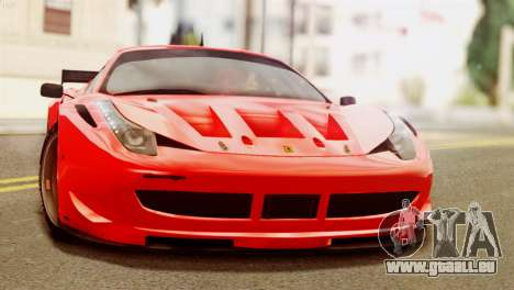 Ferrari 62 F458 2011 pour GTA San Andreas