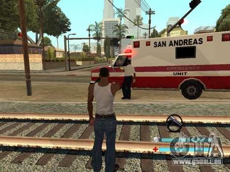 C-HUD OREAN pour GTA San Andreas troisième écran